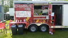 Food truck / food trailer setup ideas.