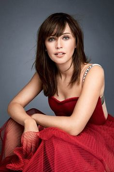 The Felicity Jones dissemination continues in the pages of Glamour magazine - Image 0