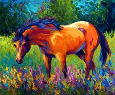 Dun Mare Painting by Marion Rose - Dun Mare Fine Art Prints and Posters for Sale Art Painting, Rose Painting, Animal Art, Western Art, Horse Painting, Painting, Canvas Photo Prints, Painting Prints, Art