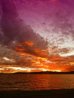 Lake Taupo Sunset - New Zealand