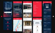 Red Square Agency - CSS Design Awards User Interface Design, Ui Ux Design, Street Smart, Global Brands, Design Awards, Branding Ideas, Red, Ui Design, Interface Design