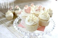 White Cupcakes with Pudding Frosting « The Best Cupcake Recipes