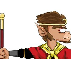 monkey magic-zoom Created by NAOKI STUDIOS Graphic design studio in Gold Coast