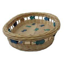 ribisska / Ribišškový košík so zlatou rybkou