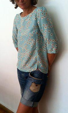 Cézembre manches longues - certaines disent que la blouse est un peu trop courte sur le devant
