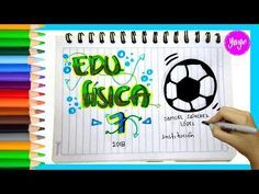 IDEAS PARA MARCAR TUS CUADERNOS-Cómo marcar cuaderno de Artística-Yaye - YouTube My Books, How To Find Out, Notebook, Lettering, Youtube, School, Crafts, Ideas, Operating System