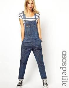 I know they're baggy and unflattering, but the kid in me loves overalls!