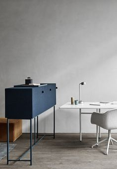 Norm Architects have recently finished Tone , a new collection of sound-absorbing cabinets for Zilenzio . Designed to absorb and improve so...