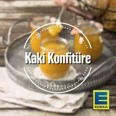 Mit Mango und Zitrusfrüchten sorgt die Kakikonfitüre für ein aromatisches Highlight auf dem Frühstückstisch. Ein Plus: Der Brotaufstrich schmeckt nicht nur lecker, sondern ist auch noch voller wichtiger Vitamine – für einen gesunden Start in den Tag! #kaki #konfitüre #marmelade #diy #selbermachen #vitaminbombe #edeka