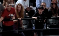 """""""Youngster does a nice thing at ball game"""""""