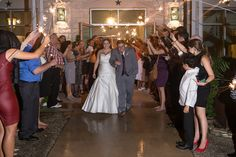 Love the wedding exit!! Photo by @harlowelane at @theterraceclub