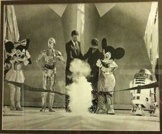 Disneyland / The opening of Star Tours