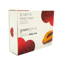 Greenland butter balm gift set (hand cream and lip butter balm)