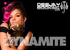 Ms Dynamite available for bookings