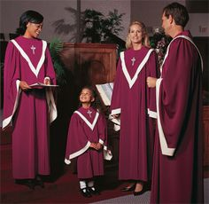 Fabulous Robe Option for Everyone!  Look at how adorable your children will look in their robes!  The MAJESTIC is a Perfect choice for your church choir.