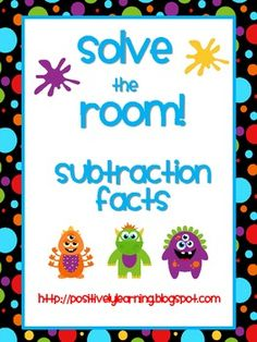 Here's an activity designed to help your students practice solving subtraction! $4.00