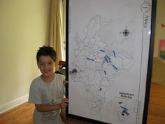 Teaching Geography with Pin Maps for CC Cycle 1
