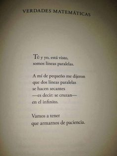 Image about vida in frases by b a r b i e on we heart it frases de amor, Poetry Quotes, Book Quotes, Me Quotes, More Than Words, Some Words, Frases Love, Love Text, Love Phrases, Romantic Poetry