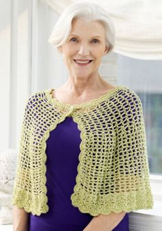#FaveCrafts - Crochet Lace caplet. Everyone should check out this site. It is full of awesome inspiration!!
