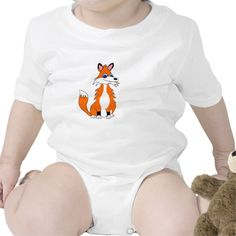 Cute cartoon character baby suits. There is also matching bibs, pacifiers and other accessories too. Take a look at #Toon_critters. Loads of different designs available.