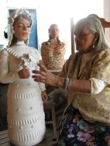 Arte Popular e Design Arte Popular, Paper Clay Art, Mexican Ceramics, Ceramic Artists, Amazing Grace, E Design, Old And New, Puppets, Folk Art