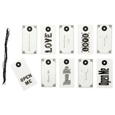 HISTORISK Gift tags - IKEA