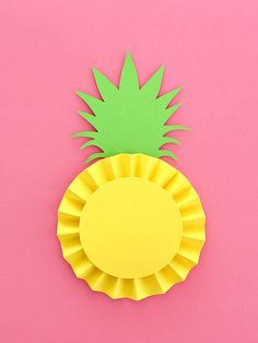 If you saw my last post, I took the rosette concept and created a fun idea for summer: pineapple rosettes!  I'm actually sensitive to the fruit, but