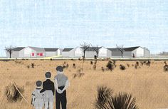 At the end of last year we designed a proposal for multi-family housing in Marfa, Texas: Marfa Silhouettes. Have a look at it here: http://www.k-w-y.org/Marfa-Silhouettes