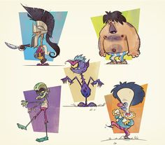 Game Characters on Behance