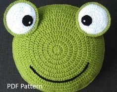Dog Pillow - Cushion CROCHET PATTERN - crochet patterns for animal pillows - Kids Birthday present - Baby shower nursery gift - PDF Crochet Pattern: My best friend Dog Cushion / Pillow This written crochet pattern includes all - Cute Cushions, Animal Cushions, Dog Cushions, Crochet Cushions, Kids Pillows, Fox Pillow, Cushion Pillow, Panda Pillow, Llama Pillow