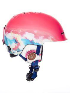 e777390a605 Casco snow para mujer Roxy 2018 Avery Neon Grapefruit-Cloud Nine