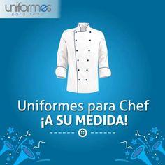 ¡Diseño, clase e imagen en cada uno de tus uniformes! #UniformesparaTodo #Chef #Restaurantes #Colombia www.uniformesparatodo.com
