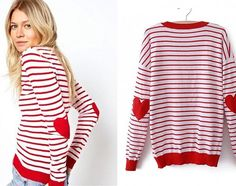 """Seriously how cute is this sweater?! I'm in love!! Layer it with a denim top or wear it alone, so many ways to style it!! Grab this """"lovely"""" sweater for only $24.99!!"""