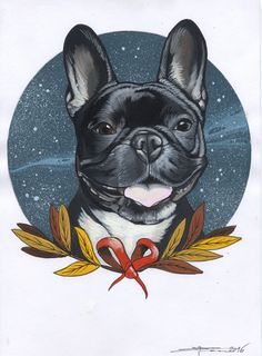 french Bulldog , Frenchie , tattoo design , cute , cutie , bulldog , sketch , drawing , sketchbook