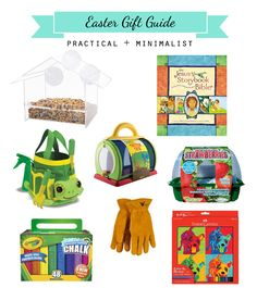 Easter gift guide with practical and minimalist suggestions in the blog post!
