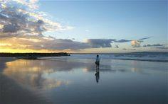 Neil on the coast of Australia.