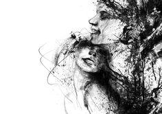 Artist Agnes Cecile – paintings