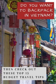 My favourite country to travel in Southeast Asia with its vibrancy, diversity and unique cultural identity, here's 15 top travel tips to know before you backpack Vietnam.