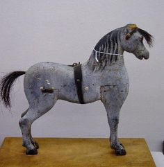 pine folk art horse...
