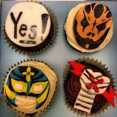 Wwe cupcakes #cupcakes #wwe #wrestling