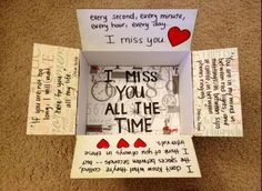 Great way to keep in touch with those special to him while he is away.