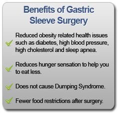 Benefits of Gastric Sleeve Surgery