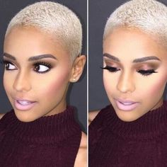 New Platinum Blonde Short Hair Pics Natural Hair Cuts, Natural Hair Styles, Petite Blonde, Pelo Afro, Cut Life, Platinum Blonde Hair, Short Blonde, Blonde Twa, Ice Blonde