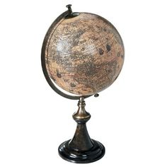Authentic Models Classic Hondius Globe with Stand - GL003D