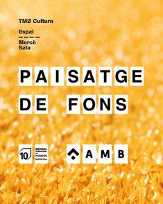 Paisatge de Fons20 years of Landscape Biennial at AMBMercé Sala VenueRambla Catalunya / RossellòFree entrance#ConstruintMetropolisBarcelona #EspaiPublicAMB #EspaisMetropolitans #PaisatgeDeFons #10LandscapeBiennialBCN #ArxiuAMB #10landscapebiennialbcn #barcelonalandscapebiennial#bienalbarcelona #bienaldepaisaje #coac#landscape #paisatge #paisaje #barcelona#rosabarba #10thedition#landscapearchitecture #international #2018