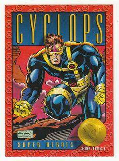 X-Men Series 2 - Cyclops # 10 Skybox 1993