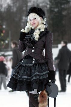 Lovely goth coord