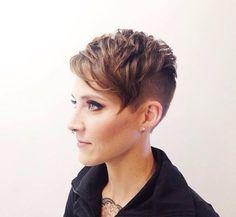 Moderne Undercut-Frisuren für Frauen, die keine Angst vor dem Haarschneidegerät haben …. - Neue Frisur