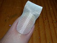 diy silk wraps for damaged nails!