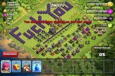This guy doesn't like attackers ha (Clash of Clans) Clash Of Clans, Troops, Battle, Clash Of C, Clash On Clans